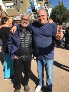 Marcelo Puella y Roberto Felleti
