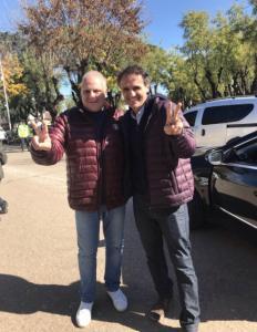 Marcelo Puella y Gabriel Katopodis