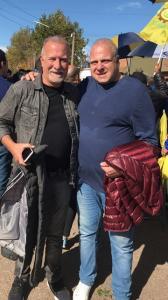 Puella con Omar Plaini