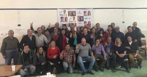 Marcelo Puella con referentes de toda la 5ta sección electoral