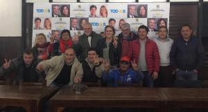 Marcelo Puella en el encuentro de la militancia en Chascomus (15-10-2019)