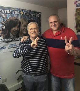 Marcelo Puella y Raúl Magario