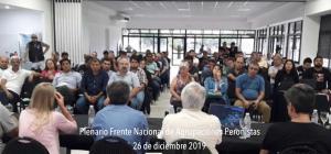 Marcelo Puella en Plenario del FRENAP (26-12-2019)