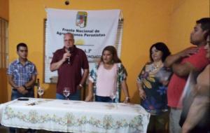 Puella lanza el FRENAP en Santiago del Estero 11-03-2020