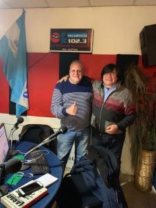 Marcelo Puella en Radio Ciudad de Mar del Plata
