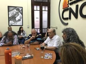 Puella y Raúl Magario en la CNCT