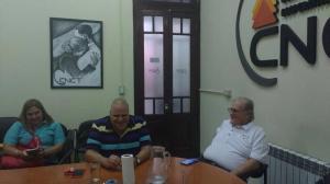 Puella y Raúl Magario en la CNCT.