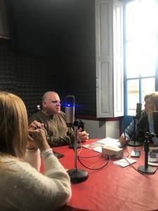 Marcelo Puella en Radio Pasión FM102,9 de Tandil