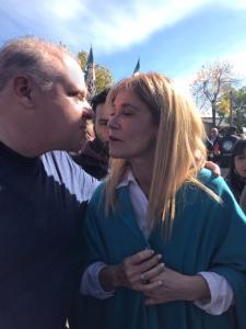 Marcelo Puella y Veronica Magario