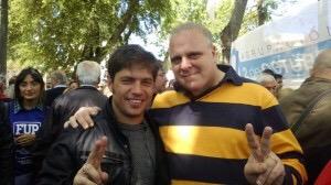 Marcelo Puella y Axel Kicillof