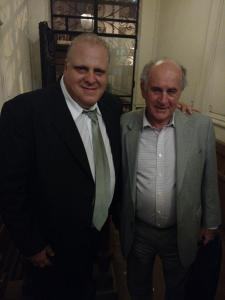 Marcelo Puella con Oscar Parrilli