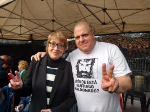 Marcelo Puella y Teresa Parodi