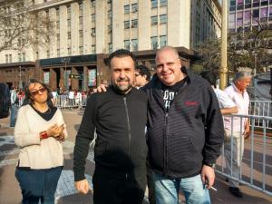Marcelo Puella y Roberto Navarro