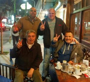 Puella con compañeros de Balcarce y Mardel