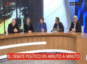 Puella en el debate político en C5N