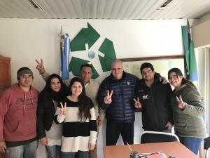 Marcelo Puella visita Lezama